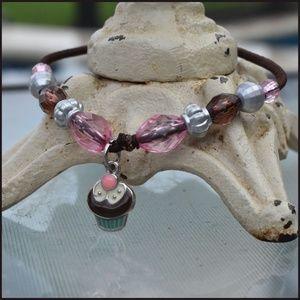 Adorable Cupcake Bracelet